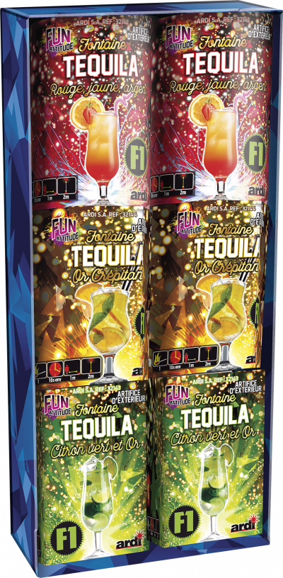 Box fontaines Tequila