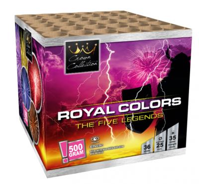 Royal Colors Cake