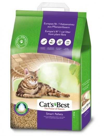 Cat's Best kattenbakvulling Smart Pellets 20 L