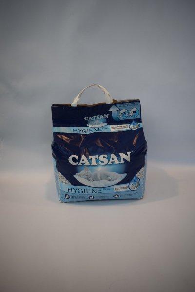 Catsan hygiene plus kattenbakvulling