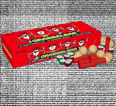 China red Grabbel Bak