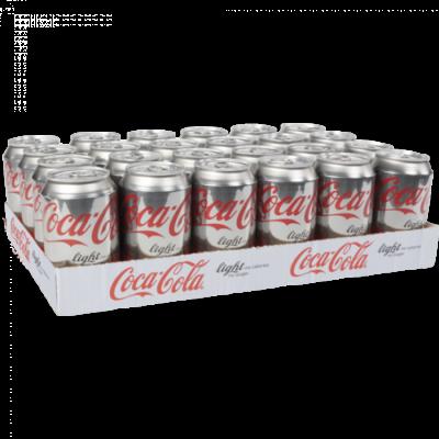 Coca-Cola light blik 33cl Tray 24 stuks