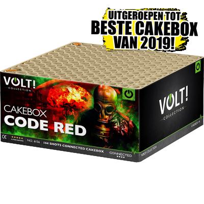 CODE RED 144 ( cakebox van het jaar )