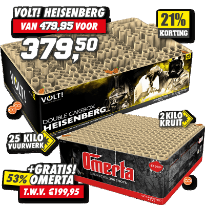 Combi Deal Heisenberg / Omerta