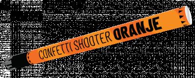 Confetti Shooter 80cm Oranje