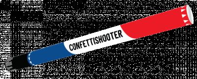 Confetti Shooter 80cm R,W,B