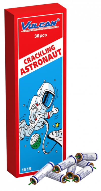 Crackling Astronaut  30 stk.