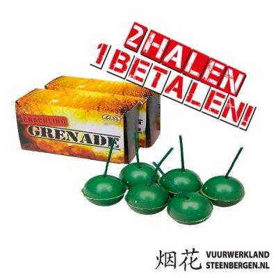 Crackling Balls 6st. / 2E GRATIS!
