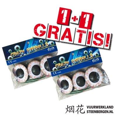 Crazy Eyeballs / 2E GRATIS!