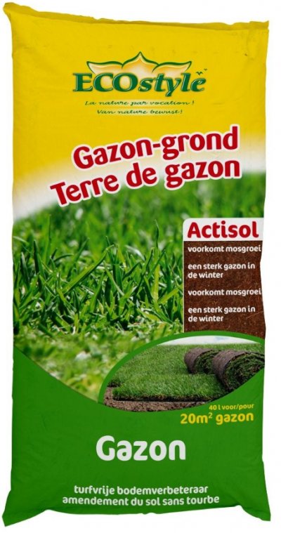Ecostyle cocopeat gazongrond 40 L