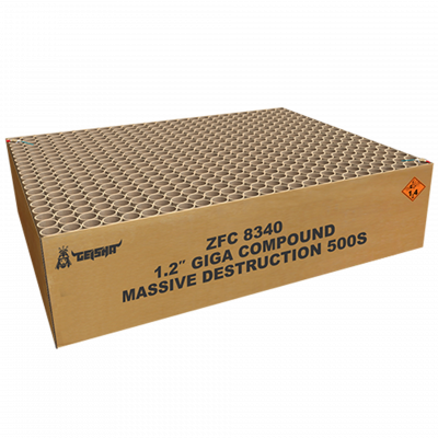 "1.2"" Massive Destruction 82,5 KG"