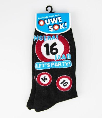 eindelijk 16 sokken