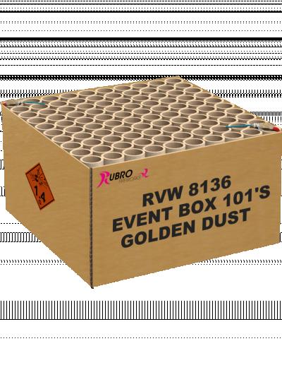 Event box golden dust 101's