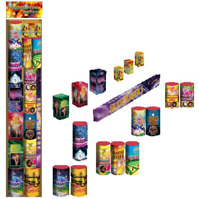 Feuerwerk Meter pakket