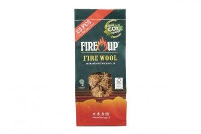Fire Up houtwol 25 stuks