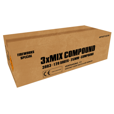 3X MIX COMPOUND 120 SCHOTS (NIEUW)