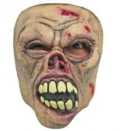 Gezichtsmasker big mouth zombie
