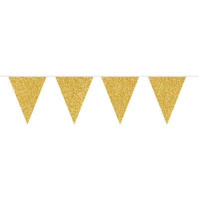 Glitterslinger Festive Gold 6m