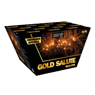 GOLDEN SALUTE ( waaier cake )