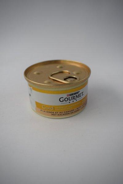 Gourmet gold hapjes in saus kalkoen en eend