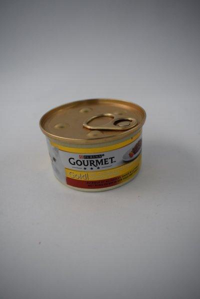 Gourmet gold met rund en kip in saus