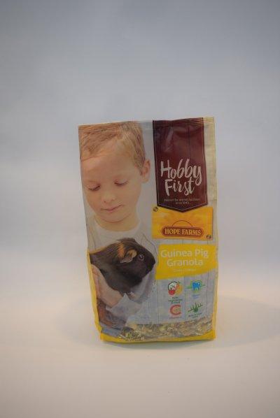 Hobby first guinea pig granola