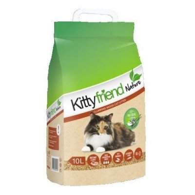 Kitty Friend kattenbakvulling Nature 10 L