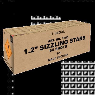 1.2'' Sizzling Stars