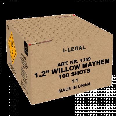1.2'' Willow Mayhem 1100 shots