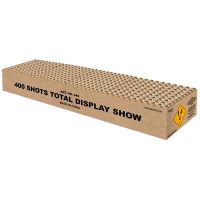 TOTAL DISPLAY SHOW 400 SCHOTS ( NIEUW )