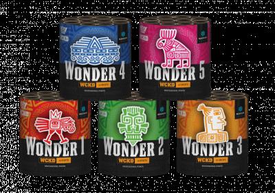 WCKD Wonders set van 5 cakes