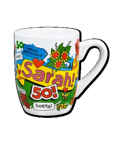 Mok 50 Sarah cartoon
