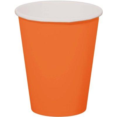Oranje Bekers 350ml - 8 stuks