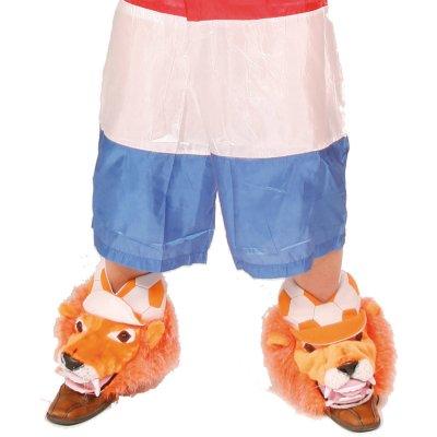 Oranje leeuw schoenhoezen - 2 stuks
