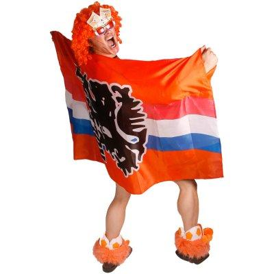Oranje Vlag Poncho 150x100cm