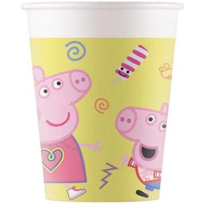 Peppa Pig Bekers Papier 200ml 8 stuks