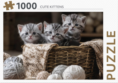 Puzzel 1000 stukjes - cute kittens