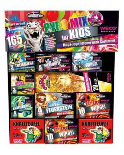 Pyro Mix for Kids pakket