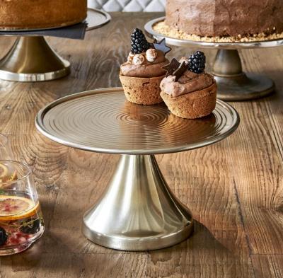 Rivièra Maison Johnsen Cake Stand soft gold - M
