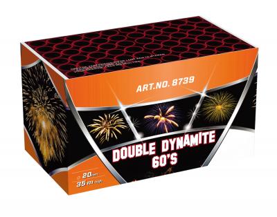 DOUBLE DYNAMITE / GALAXY 60 schoten GRATIS TUSSEN €200 - €300 *Superacties en Outlet tellen NIET mee voor het gratis vuurwerk.