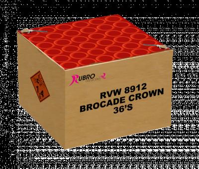 Brocade Crown 36 Schots (finale cake transbomber)