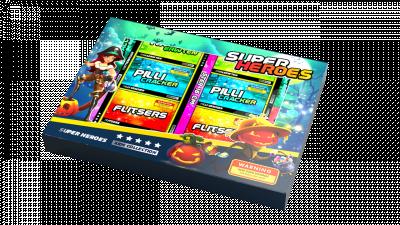 SUPER HEROES XXL PAKKET (STUNT)