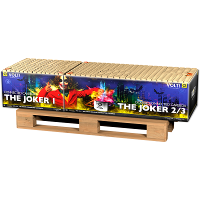 THE JOKER 428 schots ( +  gratis CODE RED )