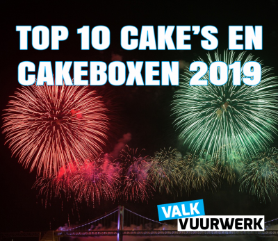 TOP 10 CAKE'S EN CAKEBOXEN 2019