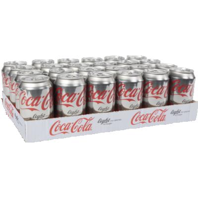 Tray (24) Coca-cola light blik 33cl