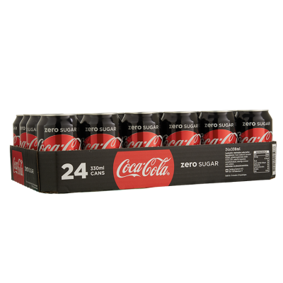 Tray (24) Coca-Cola Zero blik 33cl