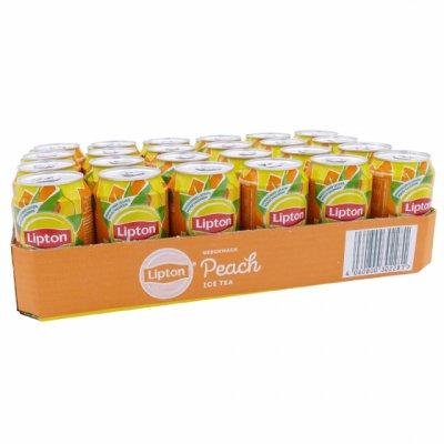 Tray (24) Lipton Ice Tea Peach 33cl