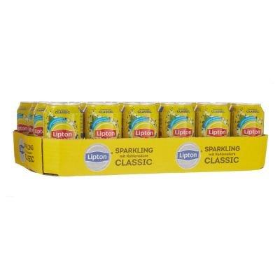 Tray (24) Lipton Ice Tea Sparkling 33cl