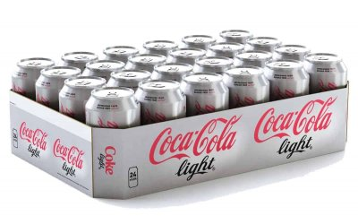 Tray Coca Cola Light