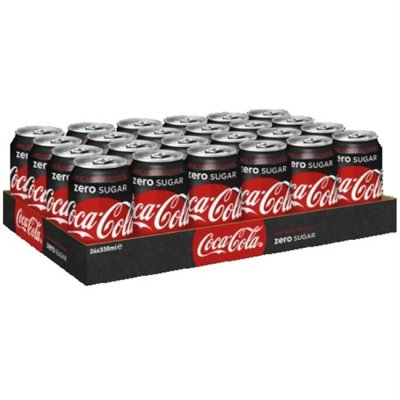 Tray Coca Cola Zero